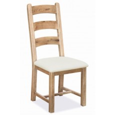 Fairford 3-Slat Ladderback Dining Chair (Each)