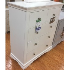Clearance - Swansea 2 over 3 Drawer Chest