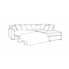 Buoyant Fantasia Corner Group Sofabed with End Stool