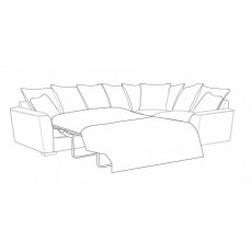 Buoyant Fantasia Corner Group Sofabed with 2 Arms