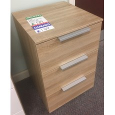 Clearance - Rauch Texas 3 Drawer Bedside