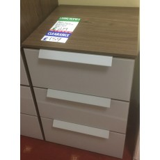 Clearance - Rauch Aldono Deluxe 3 Drawer Bedside