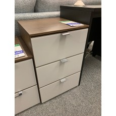 Clearance - Rauch Erimo 3 Drawer Bedside Chest