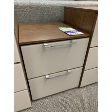 Clearance - Rauch Aldono Deluxe 2 Drawer Bedside Chest