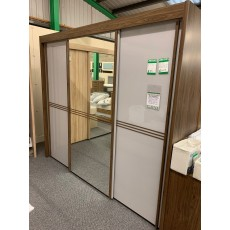 Clearance - Rauch Ravello 250x223cm Gliding Door Wardrobe inc. Assembly