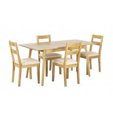 Norton Extending Dining Table & 4 Chairs