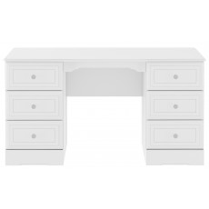 Kingstown Nicole Double Pedestal Dressing Table