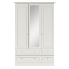 Kingstown Aylesbury 3 Door Gents Centre Mirror Wardrobe