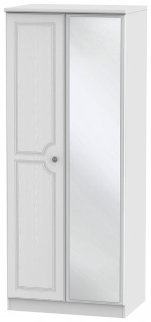 Welcome Bude 2ft 6in Mirror Wardrobe