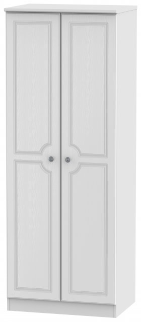 Welcome Bude Tall 2ft 6in Plain Wardrobe