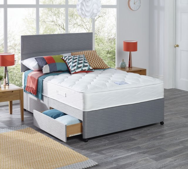 Myers elara comfort 650 divan beds living homes for Myers divan beds
