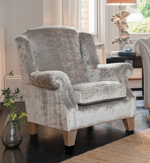 3a80b8311ba Alstons Lowry Wing Chair - Armchairs - Living Homes