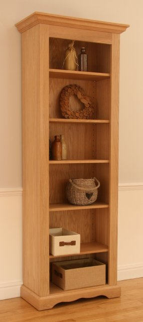 Andrena Pelham Narrow Open Bookcase