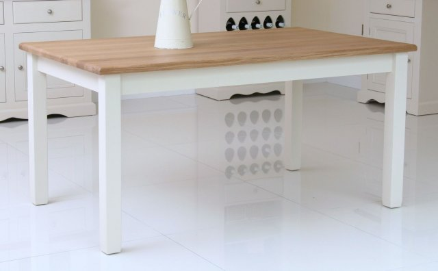 Andrena Barley Large Fixed Top Table
