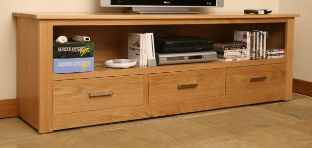 Andrena Elements Large Entertainment Unit with Drawers
