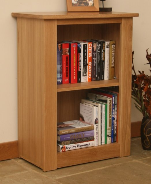 Andrena Elements Low Narrow Open Bookcase