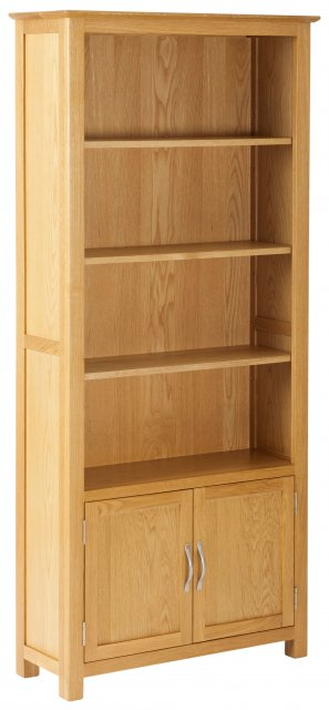 Norton Bookcase with Cupboard