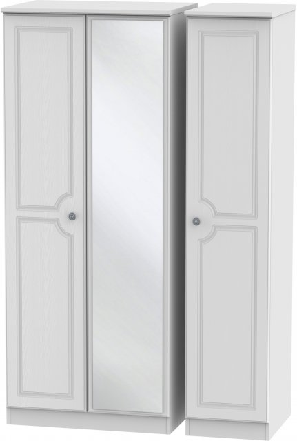 Welcome Bude Triple Mirror Wardrobe