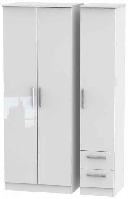 Welcome Infinity Tall Triple Plain + Drawer Robe