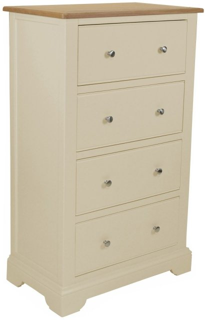 Hampton 4 Drawer Tall Chest