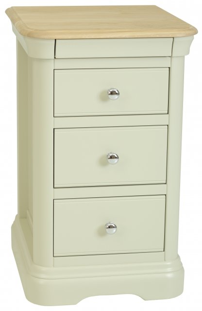 Cromwell 3 Drawer Bedside