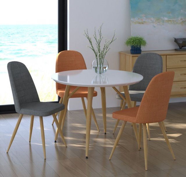 Contempo Table & 4 Chair Set