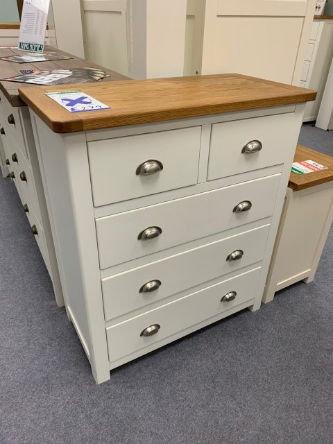Clearance - Classic Portbury 2+3 Drawer Chest