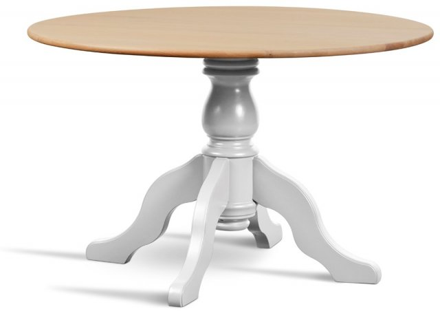 Hambledon Round (122cm) Fixed-Top Dining Table