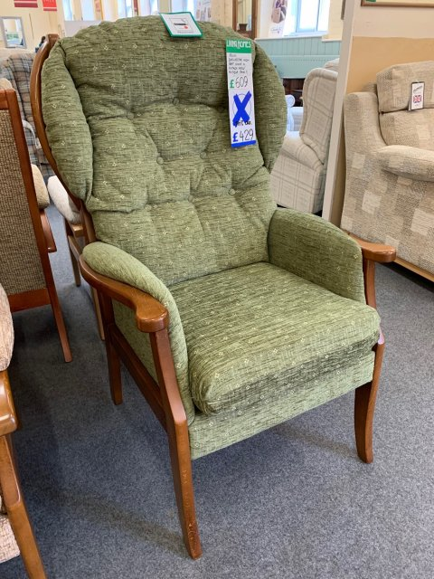 Clearance - Relax Dorchester High Seat Armchair