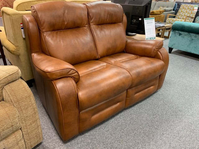 Clearance - Parker Knoll Boston 2 Seater Sofa in Leather