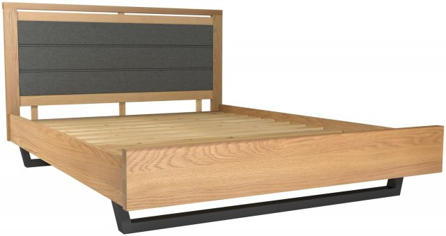 "Forest 4'6"" Double Upholstered Bed"