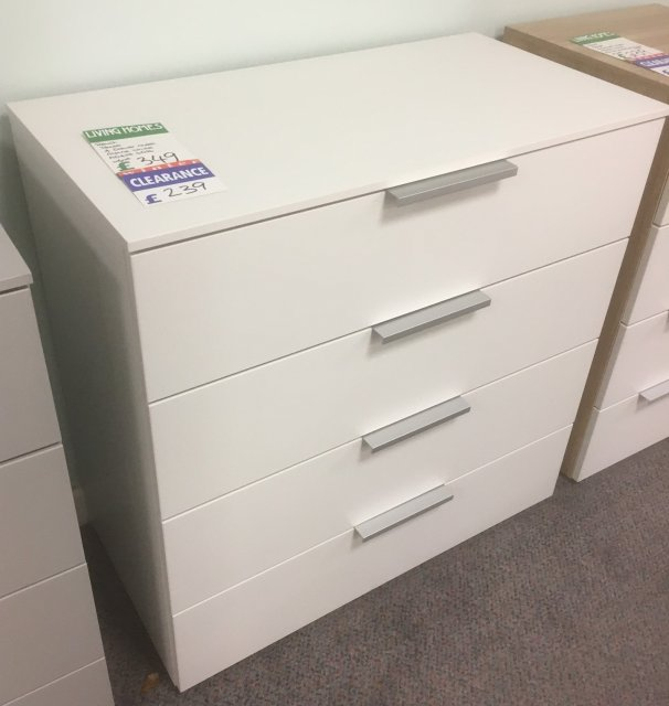 Clearance - Rauch Texas 4 Drawer Chest